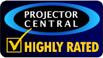 Excellente évaluation de Projector Central