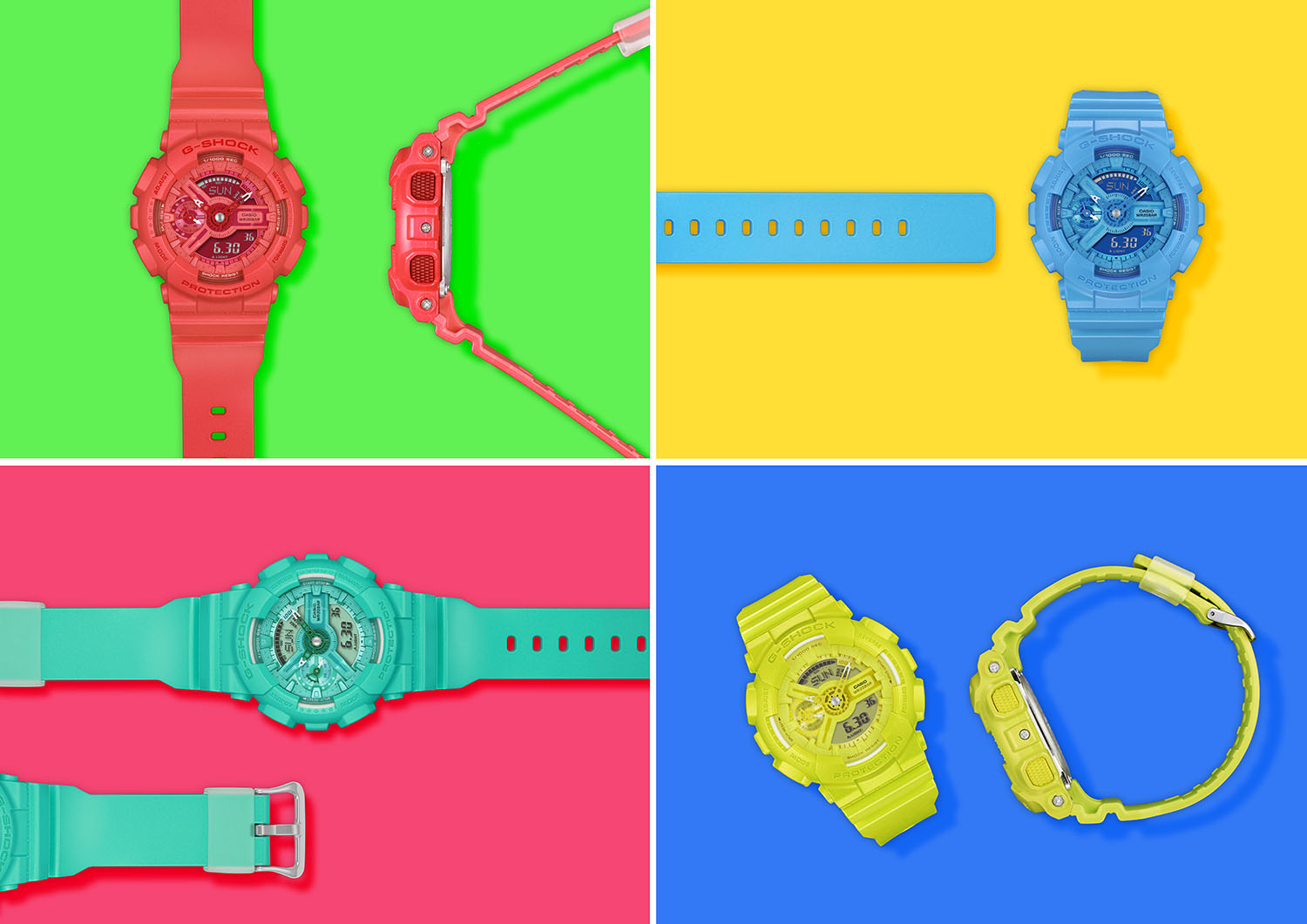 G-SHOCK S Series Vivid Color Collection