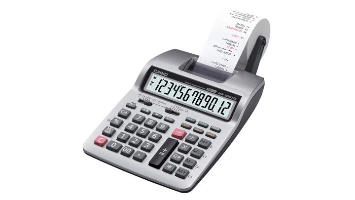 Calculatrices à imprimante