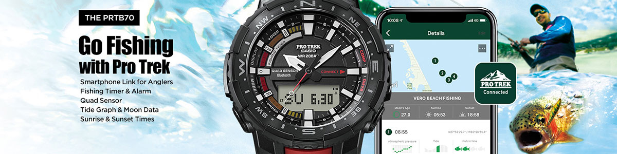 Pro Trek Watches Collection
