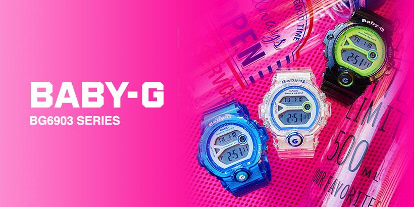 Série BABY-G BGA190