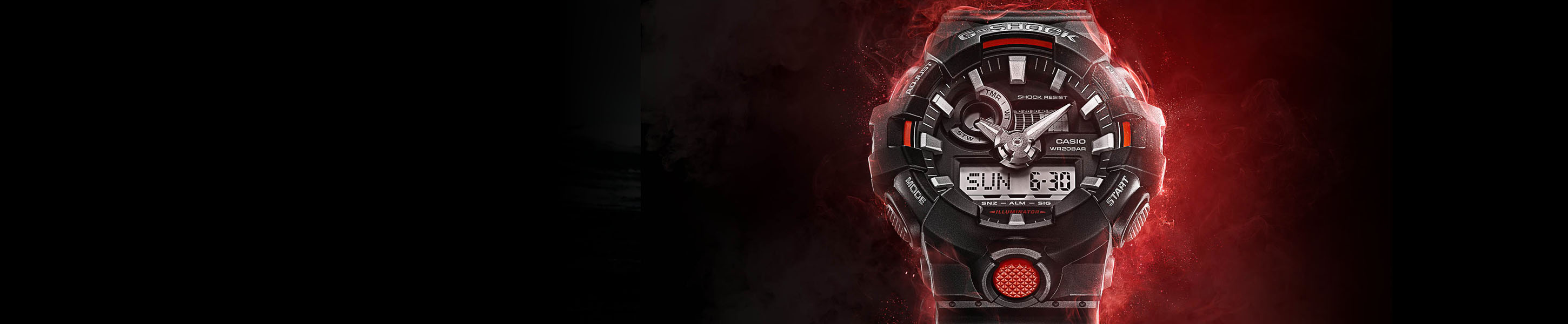 Absolute Toughness, Featuring the G-SHOCK GA700.